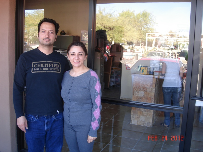 Owners Aram S. & Maysa F. of A Step Ahead Preschool in Ahwatukee, AZ